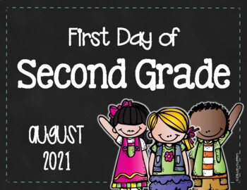 First/Last Day of Second Grade - FREE