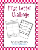 First Letter Challenge (First Sound Fluency Practice)