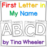 First Letter in My Name ~ Letter Recognition