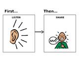 First Listen, Then Share