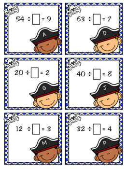 First Mate Factors and Divisors: A File Folder Game for TEKS 3.4F