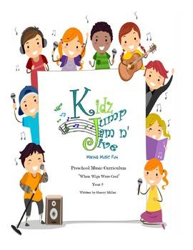 First Month Free Download of Kidz Jump Jam n' Jive Year 2 Curriculum