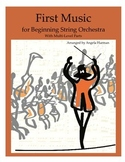 First Music for Beginning String Orchestra Compilation