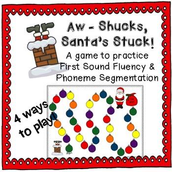 "First Sound Fluency & Phoneme Segmentation ""Aw - Shucks, S"