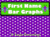 First Names Bar Graphs