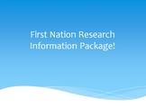 First Nation Aboriginal Indigenous Research Project Description + Rubric + Quiz