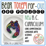 First Nations Art: Bear Pop-Out Totem