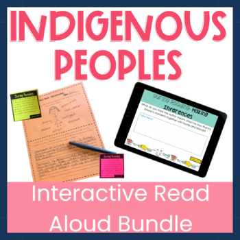 First Nations, Métis and Inuit (FNMI) Interactive Read Aloud Bundle