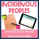 Indigenous Peoples of Canada Interactive Read Aloud Bundle