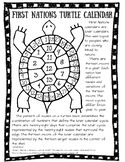 First Nations/Native American Turtle Calendar