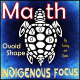 Ovoid Shape Northwest Native Art