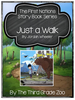 First Nations Story Book Series 'Just a Walk'