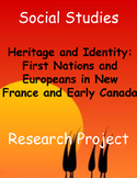 First Nations and Early European Explorers Research Project