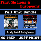 First Nations and European Contact Canada Bundle