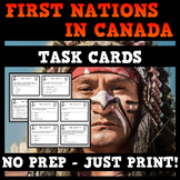 First Nations and European Explorers - 20 Task Cards