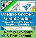Ontario Gr. 5 Social Studies Strand A Heritage and Identit