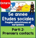 Indigenous Peoples and Europeans Part 2:  FRENCH VERSION
