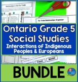Ontario Gr. 5 Social Studies Strand A:  Heritage and Identity Bundle