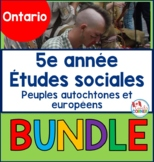 Indigenous Peoples and Europeans in New France and Early Canada FRENCH Bundle