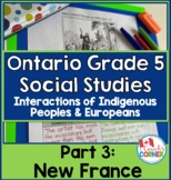 Ontario Gr. 5 Social Studies, Strand A Heritage and Identi