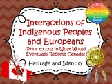 Interactions of Indigenous Peoples and Europeans Prior to 1713 Task Cards