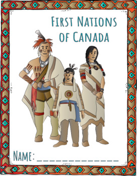 First Nations of Canada Lapbook