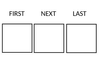 First, Next, Last Board