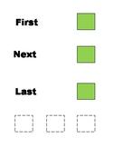 First, Next, Last Checklist