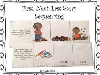 First, Next, Last Story Sequencing Part 1