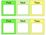 First Next Then - Visual Mini Schedule
