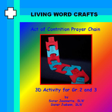 First Penance Act of Contrition Prayer Chain for Gr. 2-3