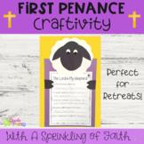 First Penance Reconciliation Catholic Craft