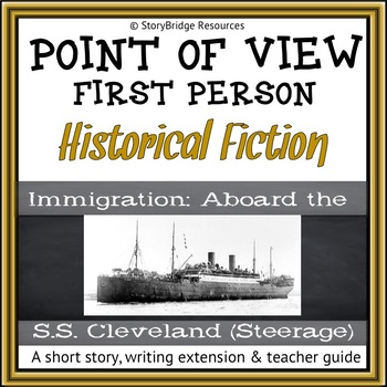 First-Person Point of View- An Immigration Historical Fiction Story