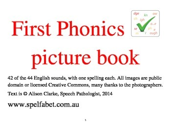 First Phonics Picture Book