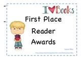 First Place Reader Award!