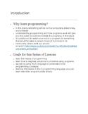 First Program: Hello World in C