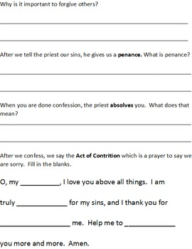 First Reconciliation Assessment