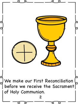 First Reconciliation Book