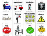 First Responder Signs {Visual Cue Cards}