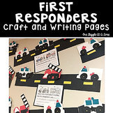 First Responders Craft and Writing Pages