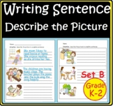 First Second Grade Writing Activity Building Writing Sentence Worksheet Digital