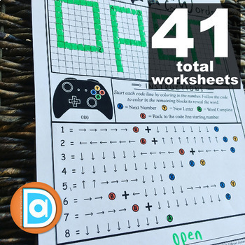 Integrated Learning Worksheets, Pack 2   Math, Tech, and ELA   1st to 3rd Grade