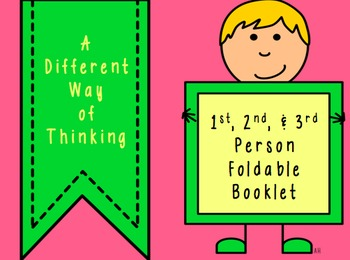 First, Second, and Third Person Foldable Booklet