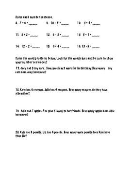 First Semester Math Review