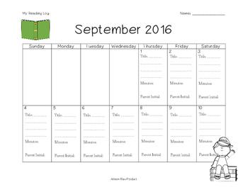 2016 First Semester Reading Log
