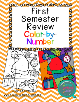 First Semester Review Color-by-Number