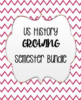 US History Semester Bundle (First Semester)