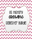 US History Semester Bundle (First Semester)