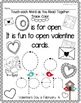 ABCs & First Sentences for FEBRUARY (A PreK and Transitional Kdg Read Together)