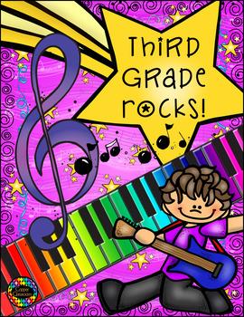 First-Sixth Grade Rocks!  Poprocks Topper